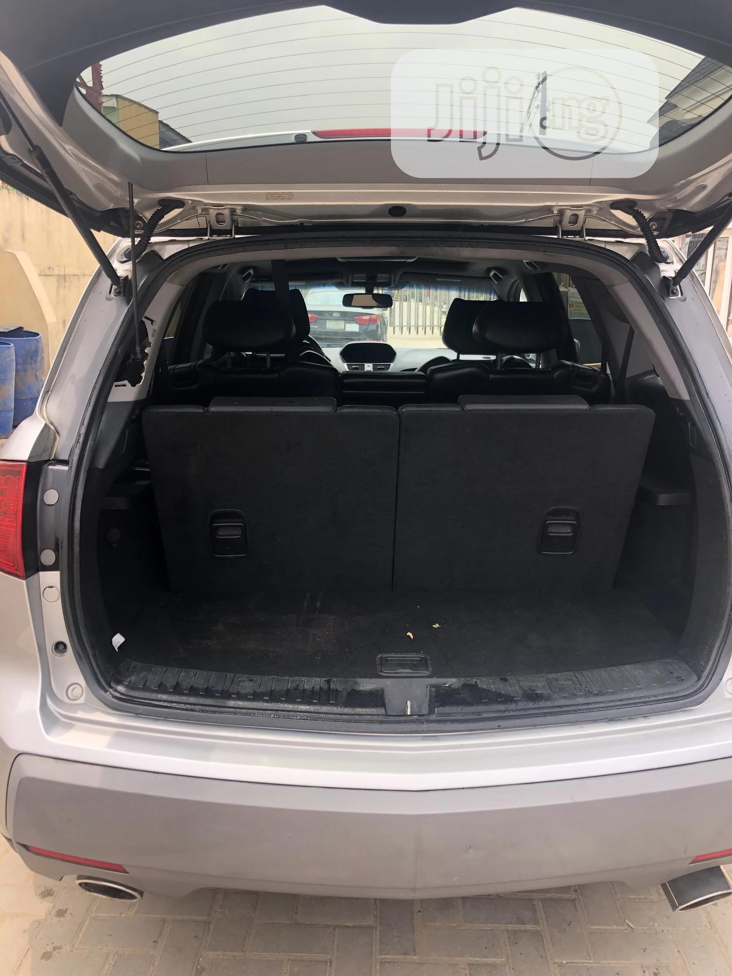 Acura MDX 2008 SUV 4dr AWD (3.7 6cyl 5A) Silver | Cars for sale in Isolo, Lagos State, Nigeria