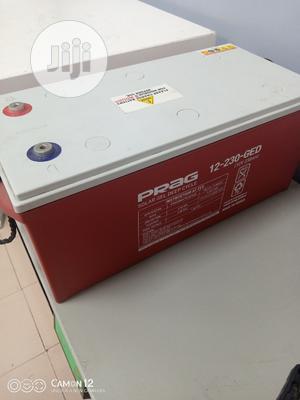 230ah/12v Prag Gel Battery | Solar Energy for sale in Lagos State, Ojo
