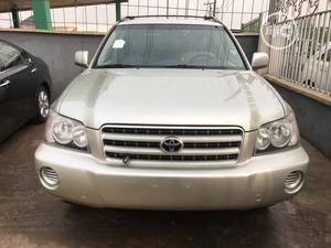 Toyota Highlander 2003 Limited V6 AWD Gold   Cars for sale in Edo State, Benin City
