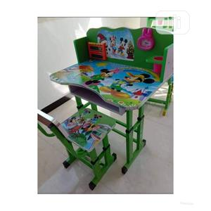 Unisex Study Table and Chair   Furniture for sale in Lagos State, Victoria Island