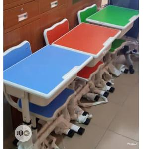 Unisex Study Table and Chair   Furniture for sale in Lagos State, Surulere