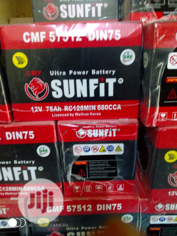 Archive: 75ahm Sunfit Battery