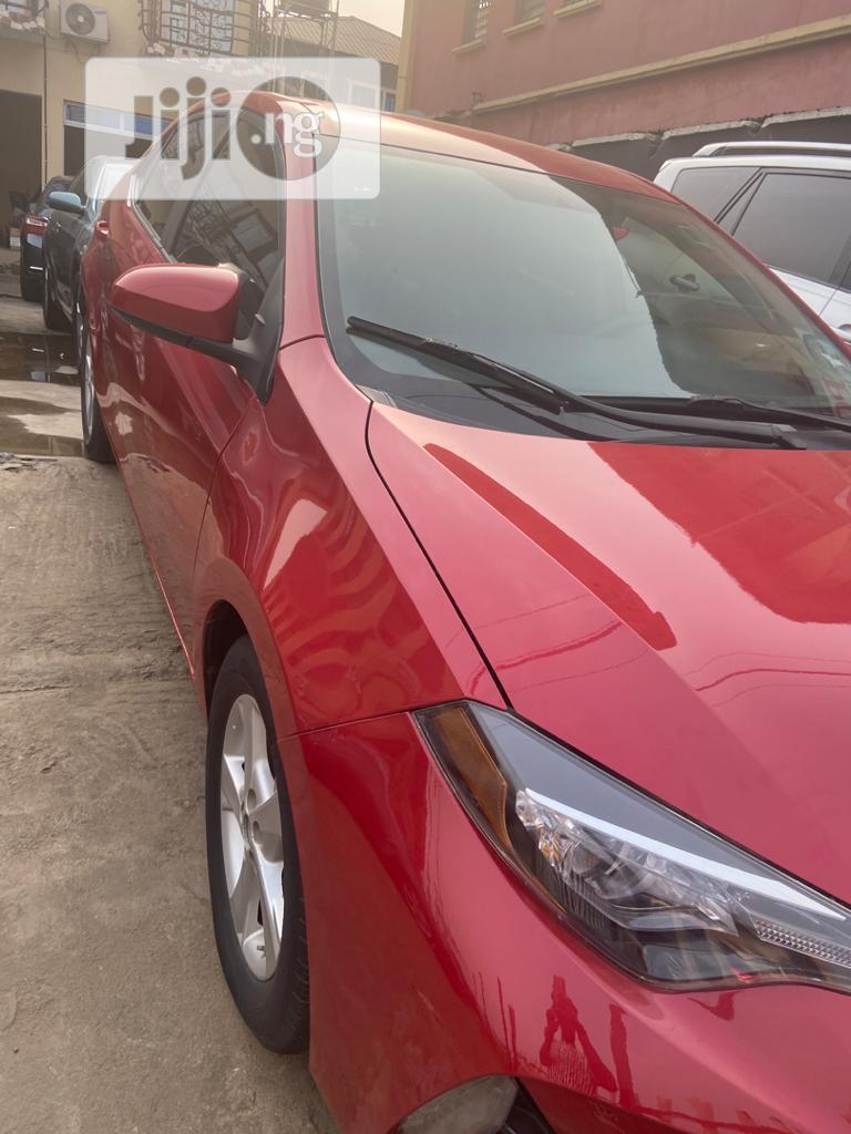 Toyota Corolla 2017 Red   Cars for sale in Ibadan, Oyo State, Nigeria