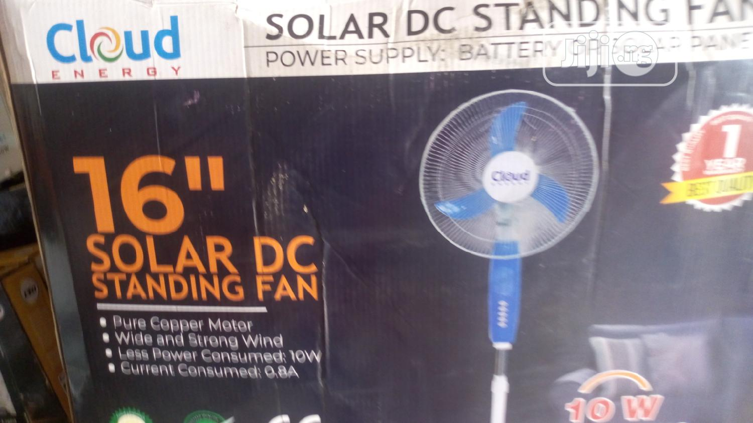 16 Inches Solar DC Standing Fan