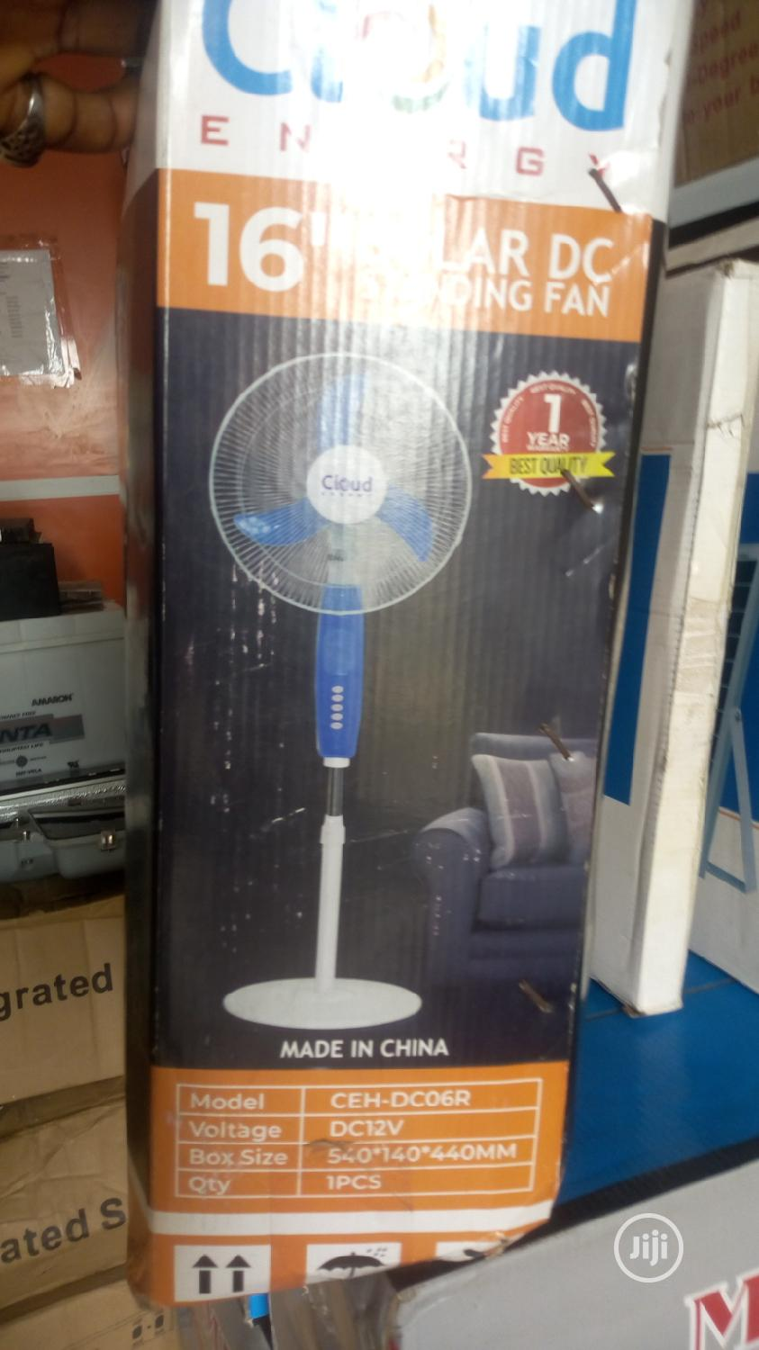16 Inches Solar DC Standing Fan | Solar Energy for sale in Ojo, Lagos State, Nigeria