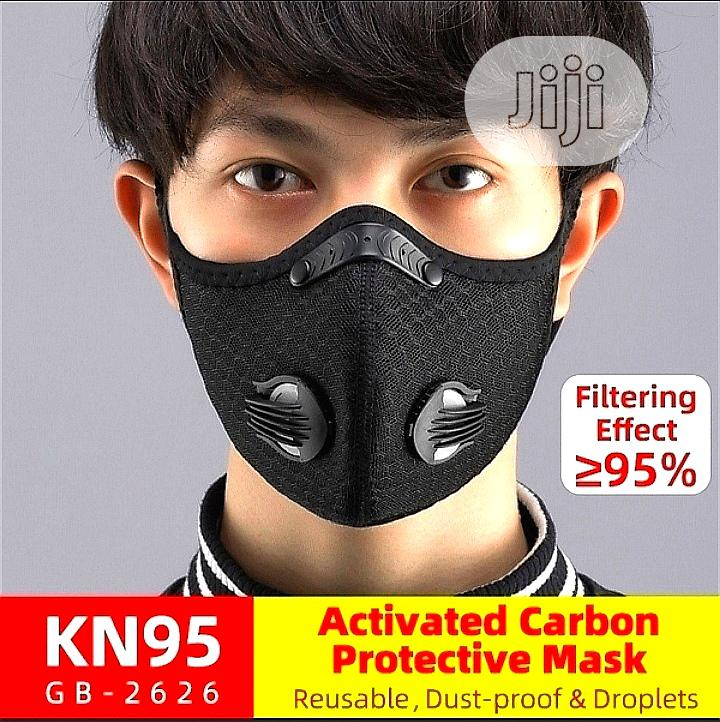 N95 Sport Mask Active Carbon Dust Mask 5× More Power