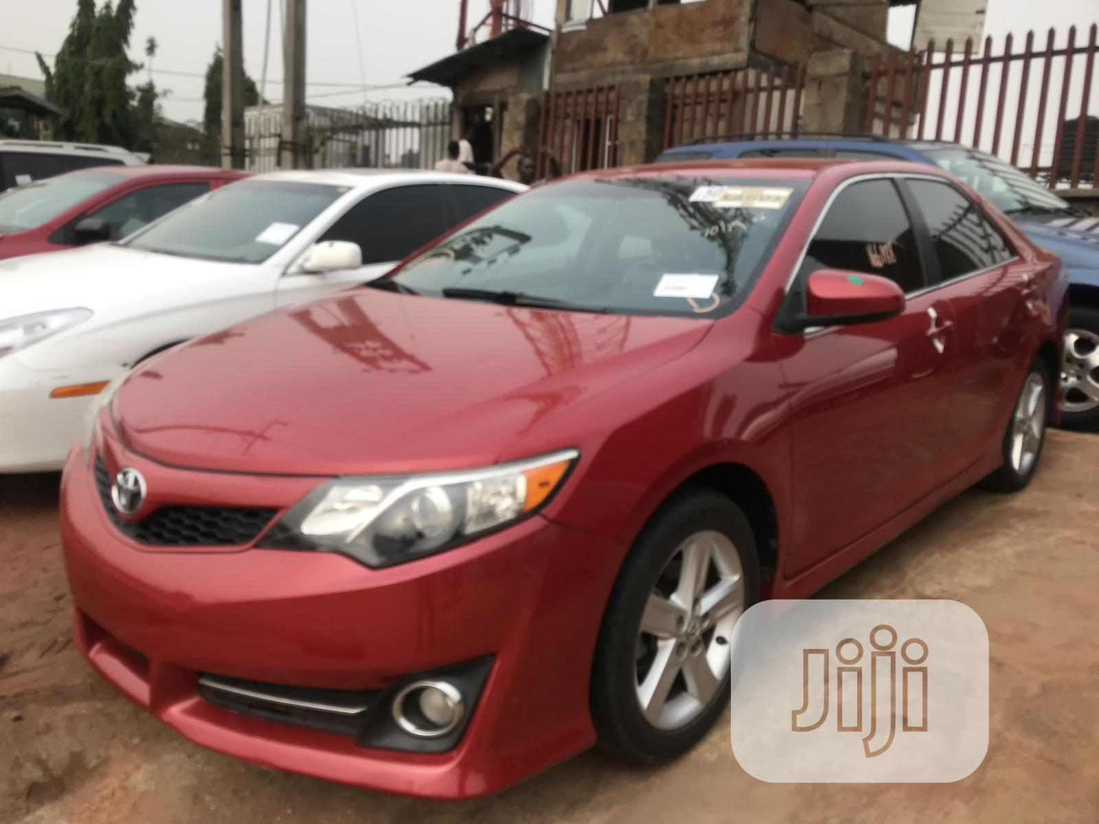 Toyota Camry 2013 Red | Cars for sale in Benin City, Edo State, Nigeria