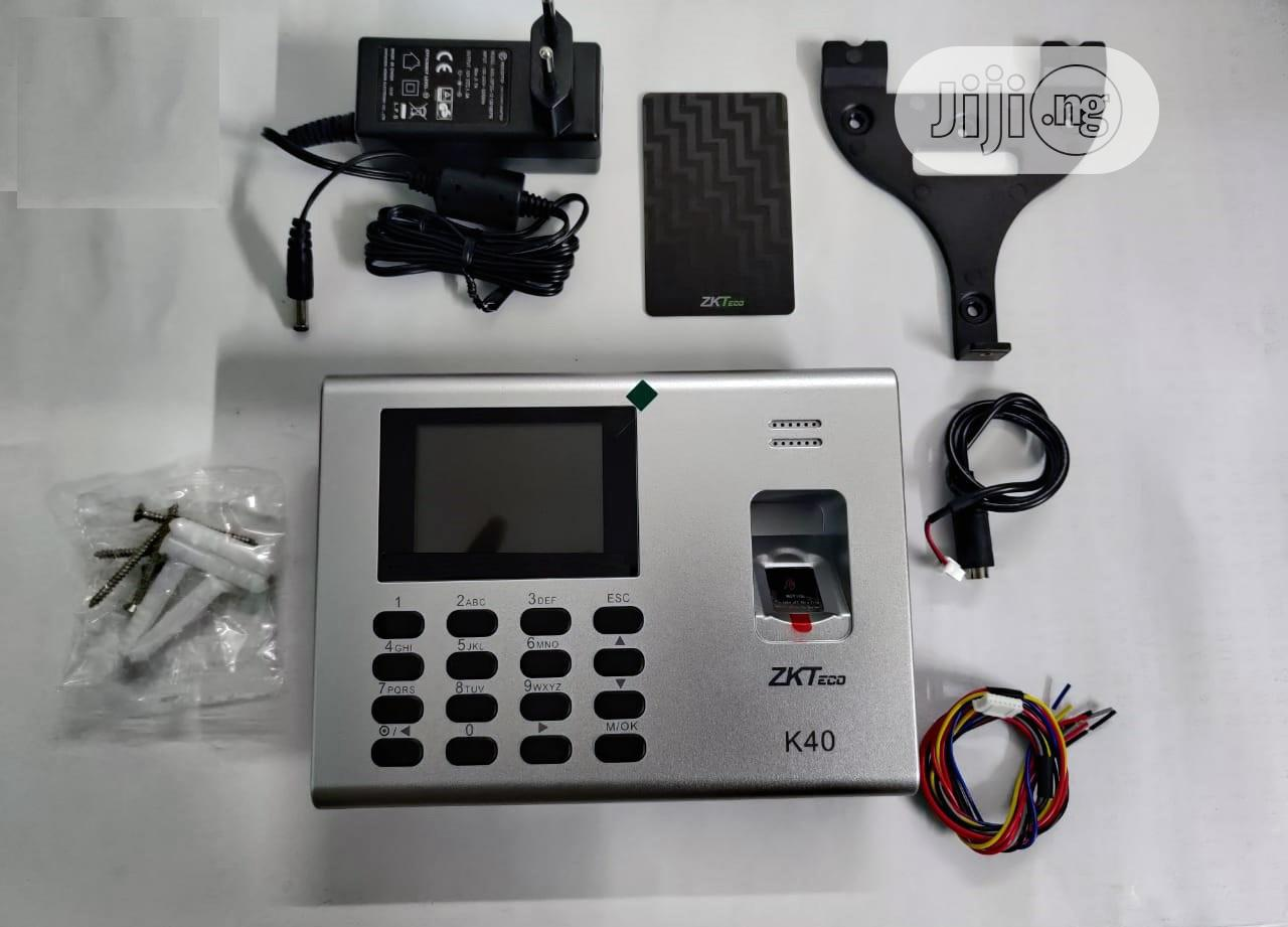 Zkteco K40 RFID Fingerprint Time Attendance / Access Control | Safety Equipment for sale in Ilorin West, Kwara State, Nigeria