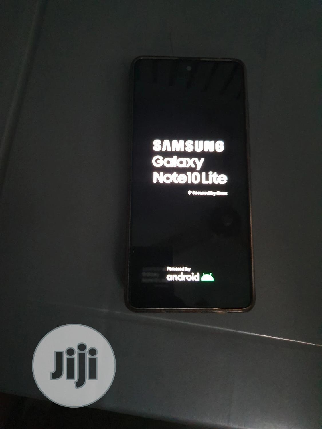 Archive: Samsung Galaxy Note 10 Lite 128 GB Black