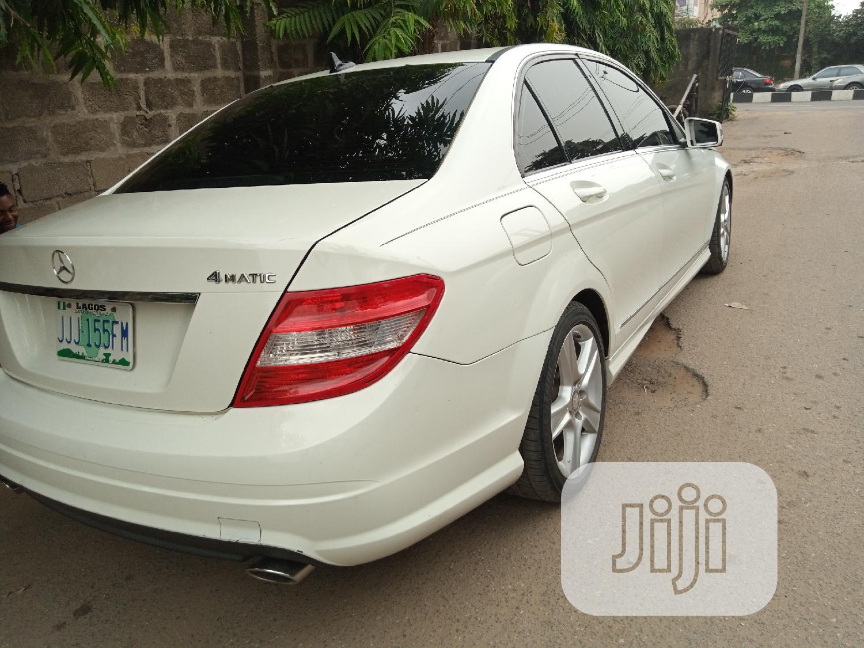 Archive: Mercedes-Benz C300 2010 White