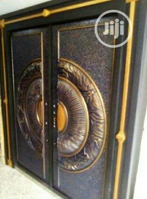 5ft Double Door Copper   Doors for sale in Lagos State, Ajah