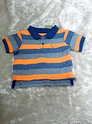 New Born Baby Polo T Shirt and Round Neck | Children's Clothing for sale in Lagos State, Yaba
