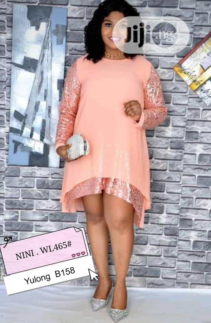 Trendy Ladies Quality Fitted Gown   Clothing for sale in Ikeja, Lagos State, Nigeria