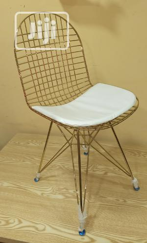Super Quality Gold Chair Available | Furniture for sale in Imo State, Orlu