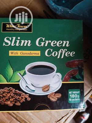 Wins Town Slim Green Coffee With Ganoderma   Vitamins & Supplements for sale in Lagos State, Amuwo-Odofin