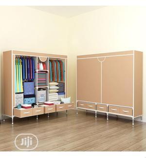 Quality Wardrobe +5 Drawers ( Big Size L-185x B-45x H-172cm) | Furniture for sale in Lagos State, Lagos Island (Eko)