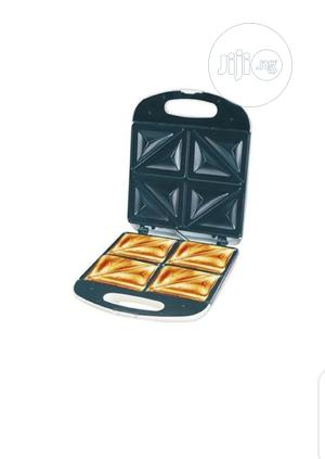 Large Electric 4 Slice Bread Toaster / Sandwich Maker | Kitchen Appliances for sale in Lagos State, Lagos Island (Eko)