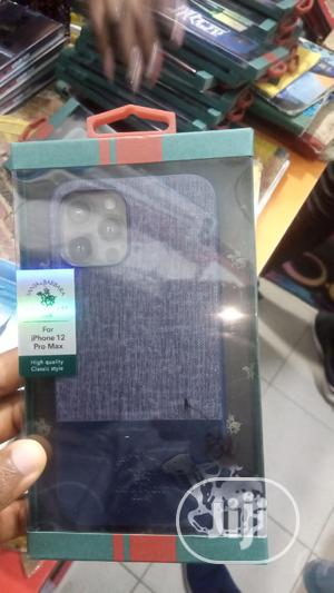 Polo Leather Back Case for iPhone 12 Pro Max   Accessories for Mobile Phones & Tablets for sale in Lagos State, Ikeja