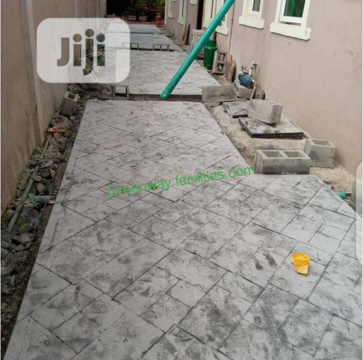 Stamp Floor Installation Service
