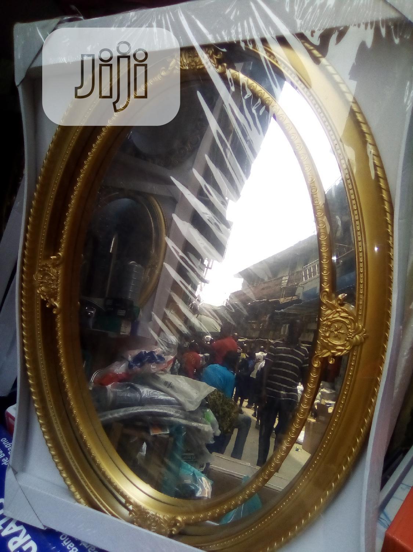 Fancy Gold Wall Mirror