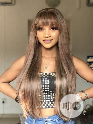 Super Double Drawn Fringe Wig   Hair Beauty for sale in Lagos State, Amuwo-Odofin