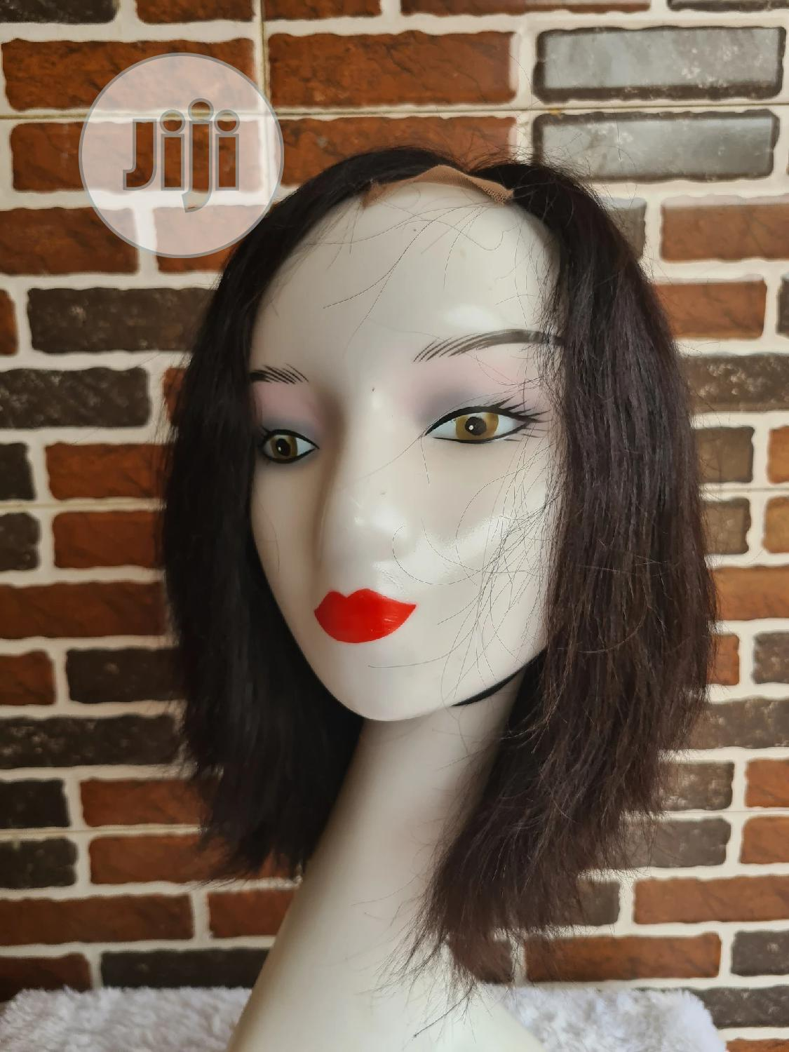 10 Inches Double Drawn Wig Nelly