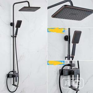 Maat Black Standing Shower   Plumbing & Water Supply for sale in Lagos State, Surulere