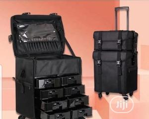 Professional 2in1 Make Up Box With Trolley   Tools & Accessories for sale in Lagos State, Amuwo-Odofin