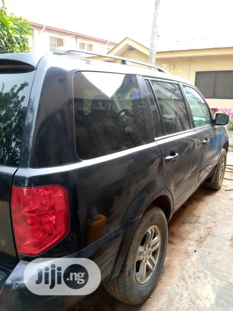 Honda Pilot 2005 LX 4x4 (3.5L 6cyl 5A) Black | Cars for sale in Ojodu, Lagos State, Nigeria