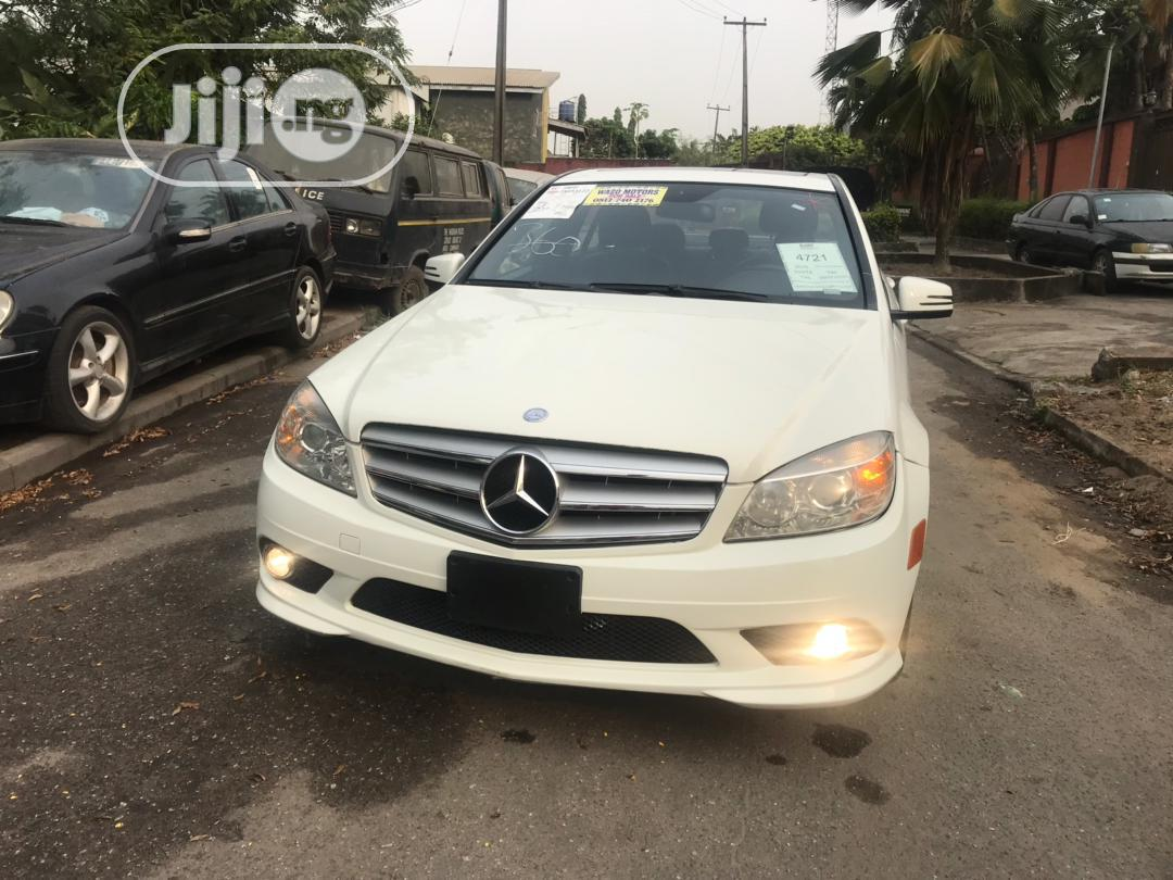 Mercedes-Benz C300 2010 White | Cars for sale in Amuwo-Odofin, Lagos State, Nigeria