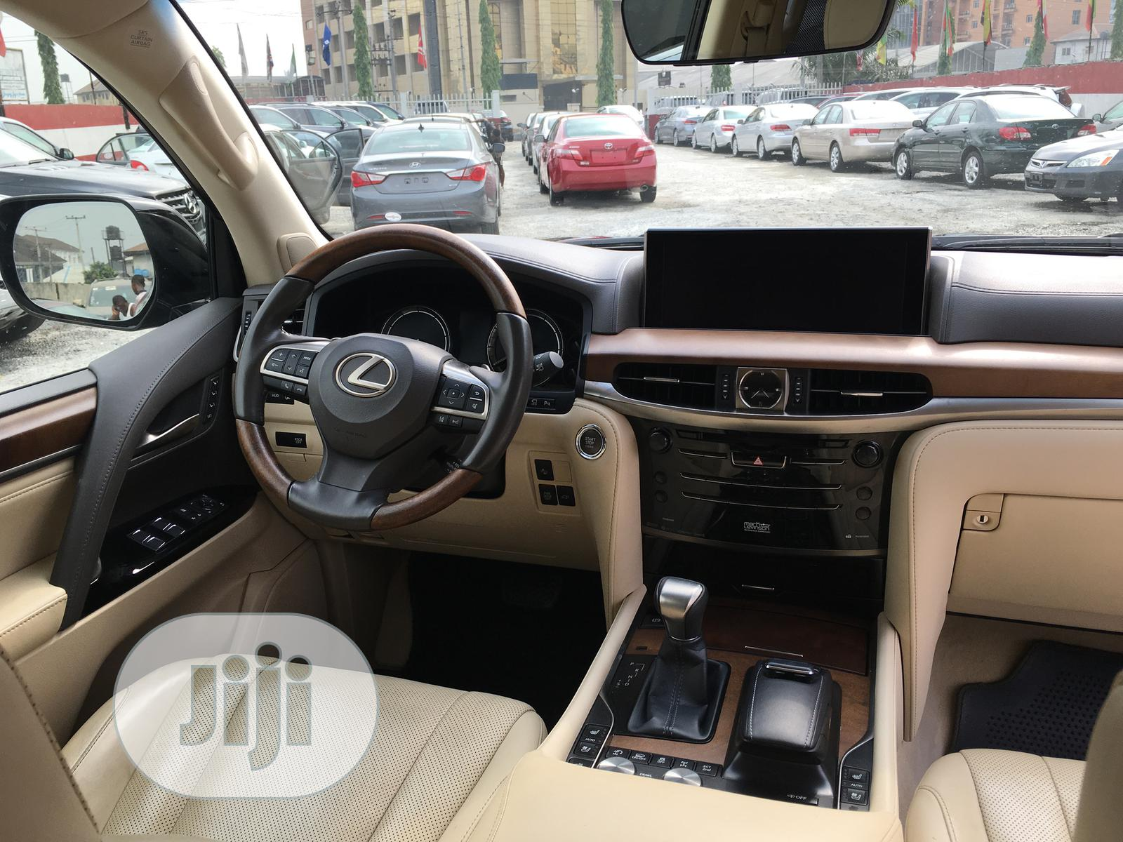 Lexus LX 2018 Black | Cars for sale in Port-Harcourt, Rivers State, Nigeria