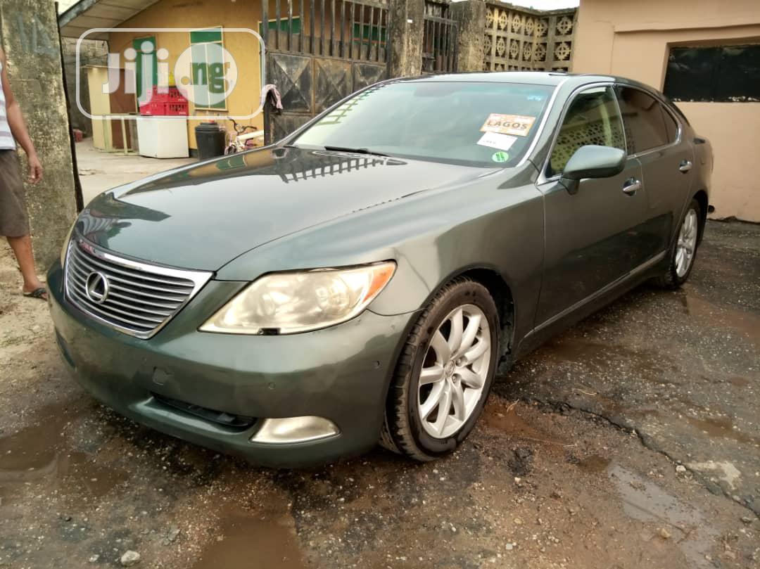 Lexus LS 2008 460 Green   Cars for sale in Amuwo-Odofin, Lagos State, Nigeria