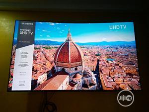 65'' MU8000 Curved Smart 4K Premium UHD TV   Samsung   TV & DVD Equipment for sale in Lagos State, Ojo