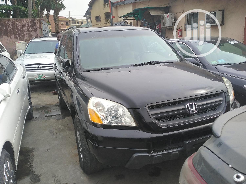 Honda Pilot 2005 EX-L 4x4 (3.5L 6cyl 5A) Black