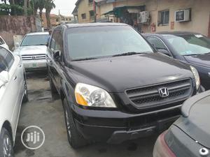 Honda Pilot 2005 EX-L 4x4 (3.5L 6cyl 5A) Black   Cars for sale in Lagos State, Ikeja