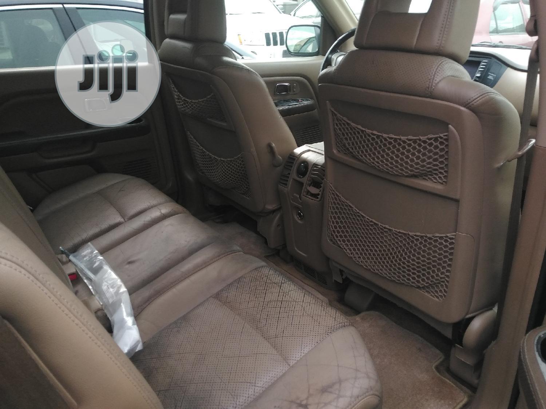 Honda Pilot 2005 EX-L 4x4 (3.5L 6cyl 5A) Black   Cars for sale in Ikeja, Lagos State, Nigeria