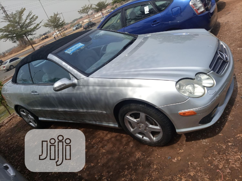 Archive: Mercedes-Benz CLK 2005 500 Coupe Silver