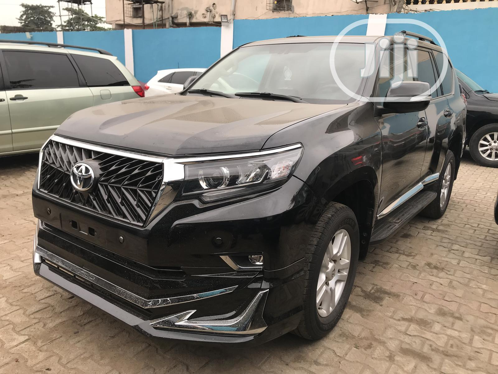 Toyota Land Cruiser Prado 2012 VX Black | Cars for sale in Ikeja, Lagos State, Nigeria
