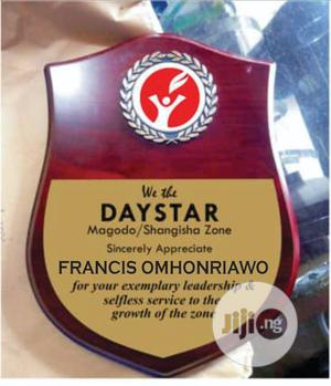 Golden Award Plaque and Medalon | Arts & Crafts for sale in Lagos State, Surulere