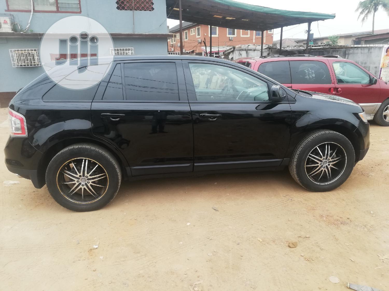Ford Edge 2008 Black | Cars for sale in Ifako-Ijaiye, Lagos State, Nigeria