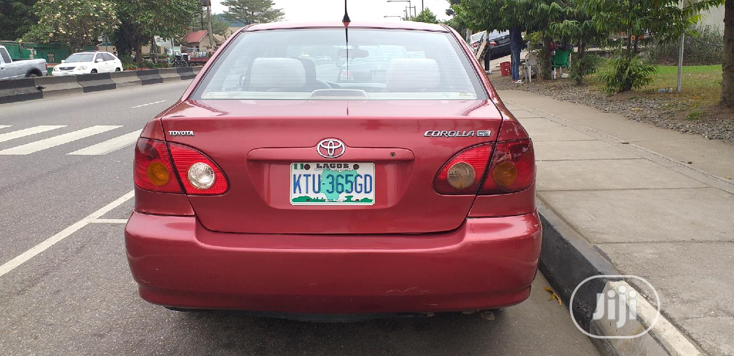 Archive: Toyota Corolla 2004 1.4 Red