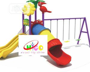 Big Play With Tunnel Playhouse With Double Slide and Swing | Toys for sale in Lagos State, Ikeja