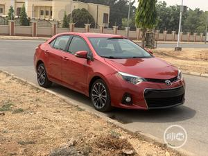 Toyota Corolla 2015 Red | Cars for sale in Abuja (FCT) State, Wuse 2