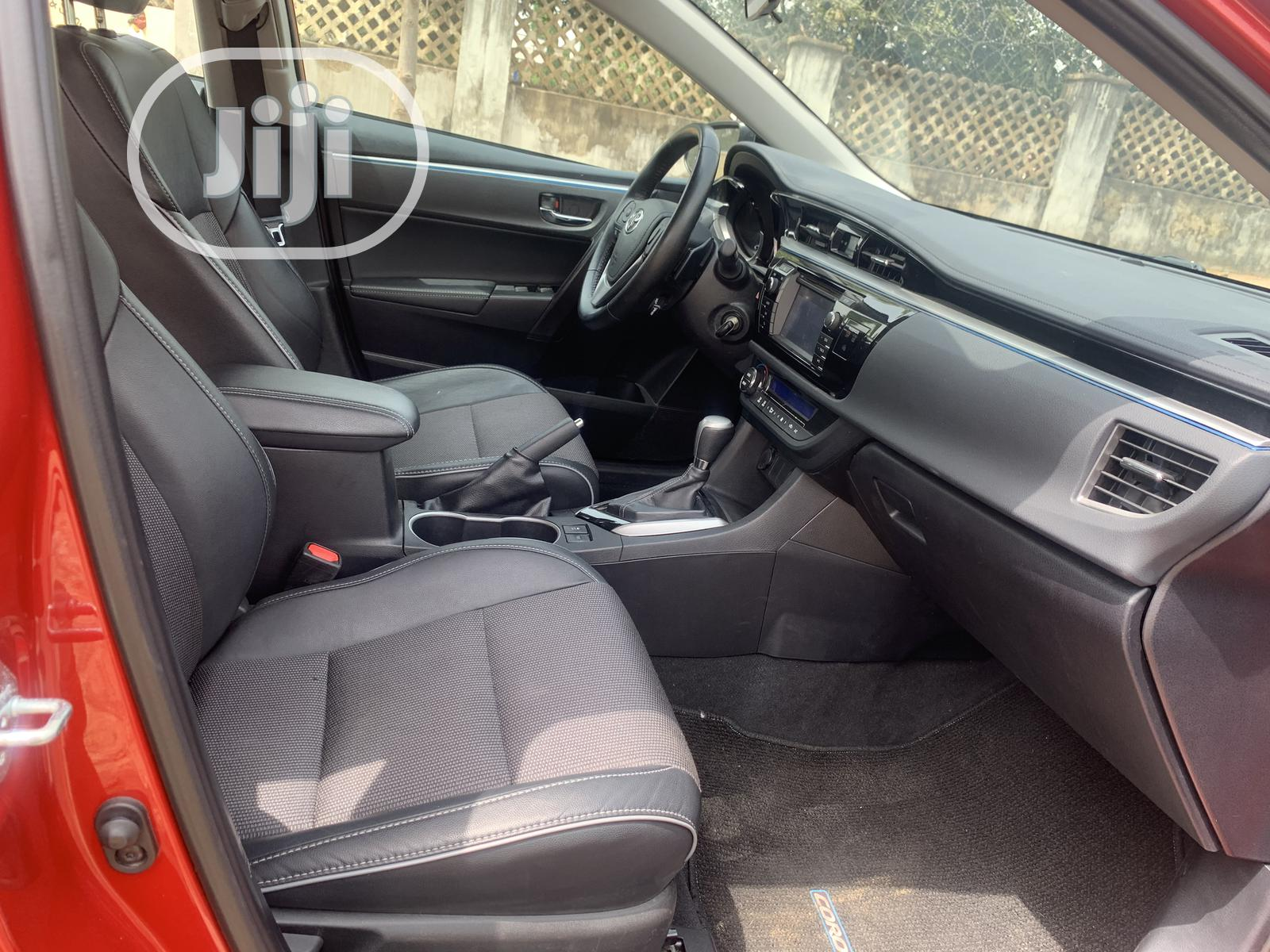 Toyota Corolla 2015 Red | Cars for sale in Wuse 2, Abuja (FCT) State, Nigeria