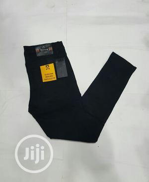 Classic Off-White Black Jeans Trouser | Clothing for sale in Lagos State, Lagos Island (Eko)