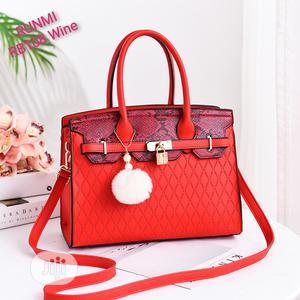 Ladies Red Handbag | Bags for sale in Oyo State, Ibadan