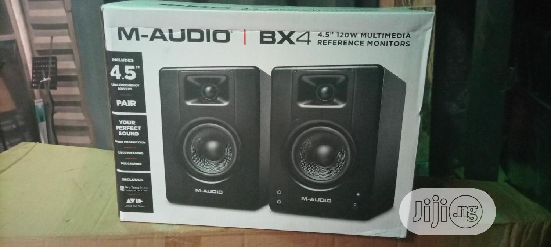 M Audio Monitor Speaker Bx4