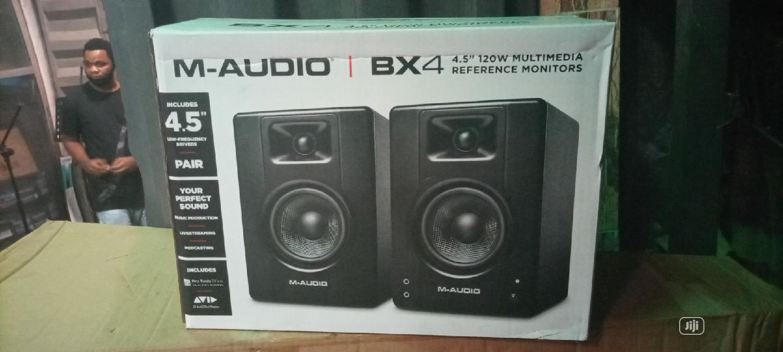 M Audio Monitor Speaker Bx4   Audio & Music Equipment for sale in Ojo, Lagos State, Nigeria