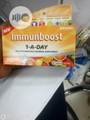 Immunboost 1 a Day Multivitamin X 90 Tabs | Vitamins & Supplements for sale in Lagos State, Ipaja