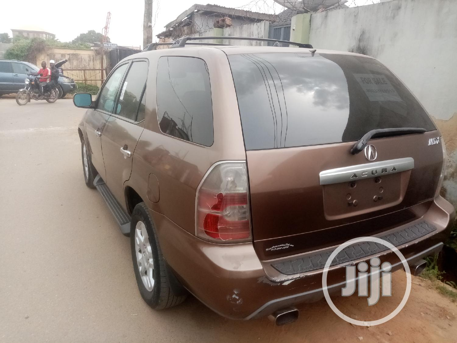 Acura MDX 2004 Sport Utility Brown | Cars for sale in Surulere, Lagos State, Nigeria
